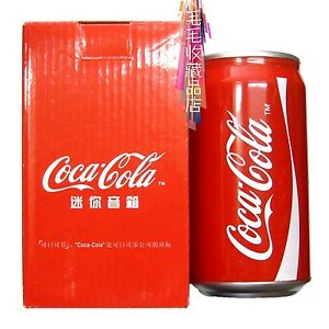 Coca-Cola tank type sound box speaker coca cola box speaker