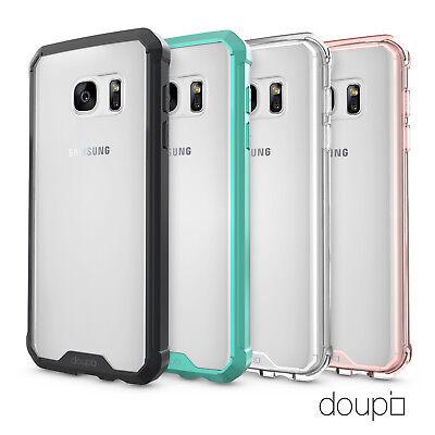 AirClear Case Samsung S7 Crystal Clear Rückschale Bumper Rahmen Schutz Hülle Crystal Clear Schutz