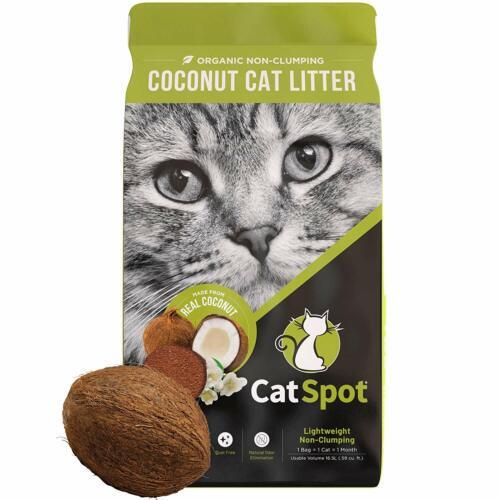CatSpot: Non-Clumping Formula, 100% All-Natural Coconut Litter