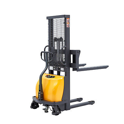 Sovans Electric Walkie Pallet Stacker Lift 2200lbs Capacity 63 Lifting Height
