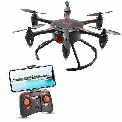 Tech RC Mini Drone with HD Camera Unexploded Video, WiFi FPV Fun Quadcopter (New)