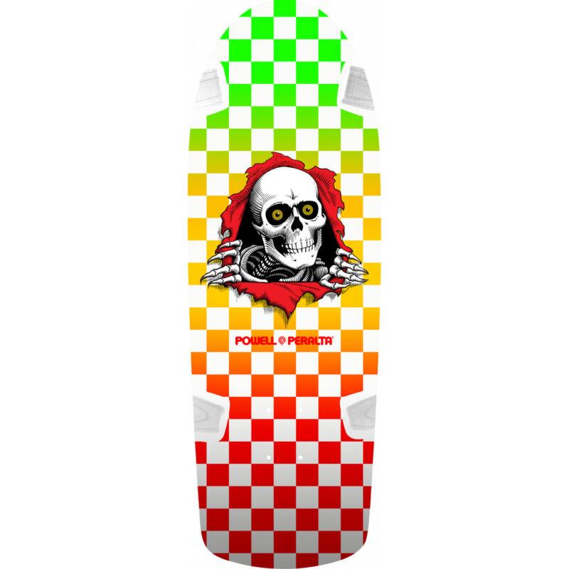 Powell Peralta Skateboard Deck OG Ripper 11 Checker Multi Re-Issue