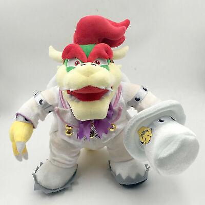 Super Mario Odyssey King Bowser Wedding Costume Plush Toy  Figure Doll  14