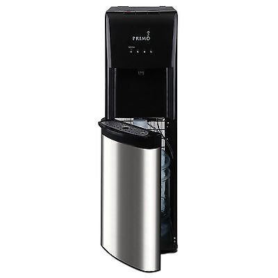 Primo Bottom Load Self Cleaning Water Dispenser  Stainless Steel Black New