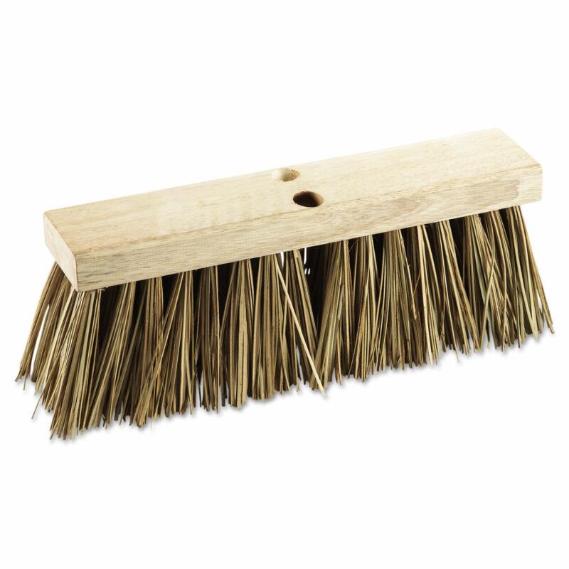 "Boardwalk Street Broom Head 16"" Wide Palmyra Bristles 71160"