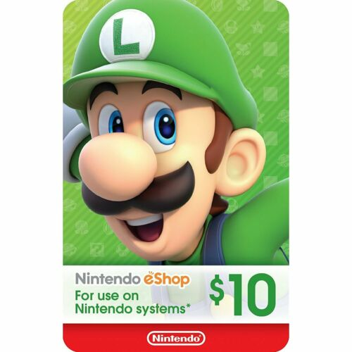 Nintendo eShop gift card $10 USD Switch 3DS WiiU