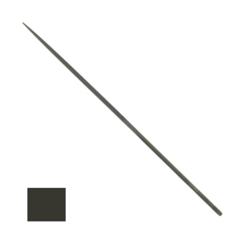 """Grobet Swiss Square Needle File 20cm Cut #0 #2 #4 Vallorbe 8"""" Highest Quality"""