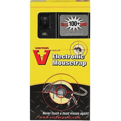 victor electronic electric shock mouse trap kills mice rat r