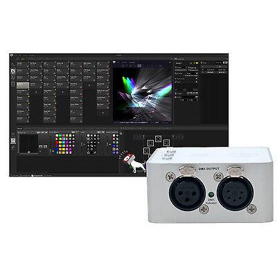 Adj American Dj Mydmx 3 0 Lighting Show Dmx Control Hardware Software System