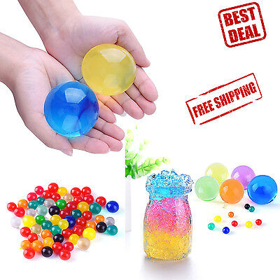 Water Beads Jelly Balls Wedding Party Decoration Toys Orbeez 150 Bead Grow Large