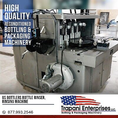 Us Bottlers Bottle Rinser Rinsing Machine Bottling Machine Rinser