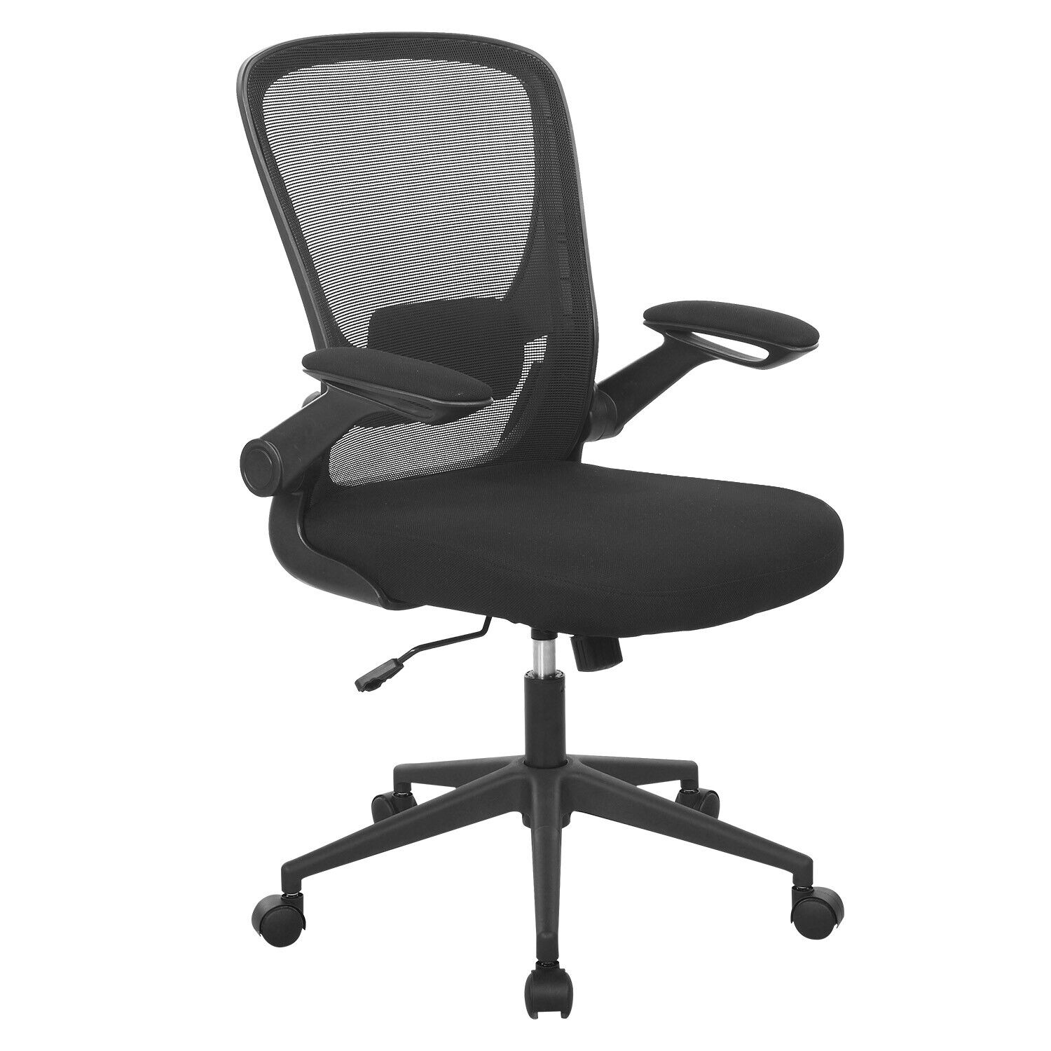Set Of 3 Mid-Back Mesh Office Chair Computer Task Swivel Seat Ergonomic Chair Business & Industrial