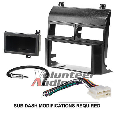 Metra 95-3000B Double Din Dash Car Radio Mount Kit Stereo Install Parts Package 1994 Chevy Silverado Parts