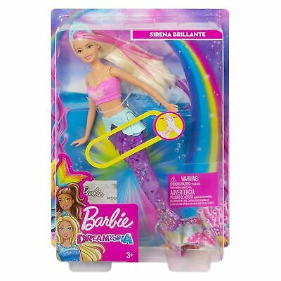 Barbie Dreamtopia Sparkle Lights Mermaid Doll With Swimming Motion & Light