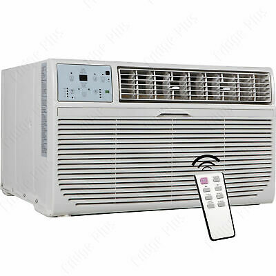 8000 BTU Through-The-Wall Air Conditioner & Heater, 115V AC