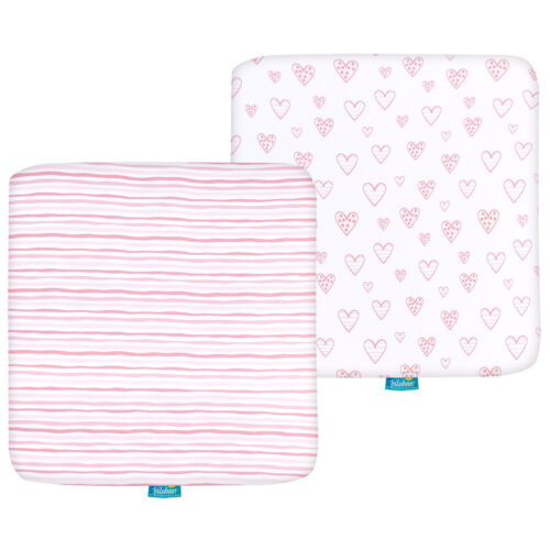 Pack N Play Mattress Sheets for Square Playard 100% Cotton 36