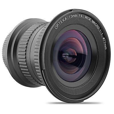 Opteka 15mm f/4 LD UNC AL Wide Angle Lens for Canon EOS Digital SLR Cameras