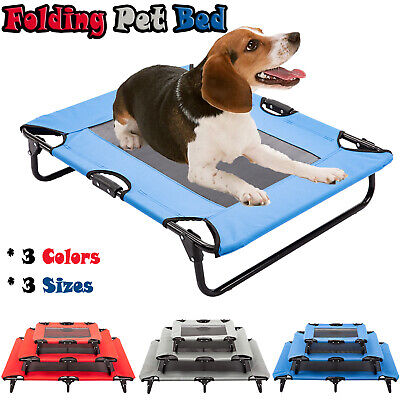 Pet Sleeper - Elevated Pet Bed Dog Cat Cot Portable Raised Camping Pet Cozy Lounger Sleeper