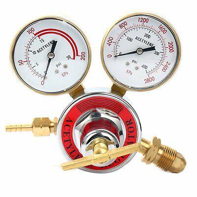 Acetylene Gas Welding Regulator Pressure Gauge Victor Cga510
