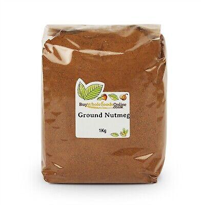 Nutmeg Ground 1kg   Buy Whole Foods Online   Free UK Mainland P&P