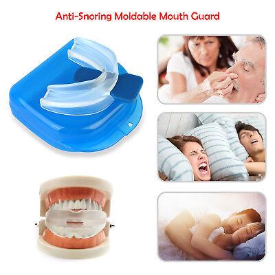 - Anti Snore Stop Snoring Mouth Device Guard Good Sleep Aid No Apnea Silicon