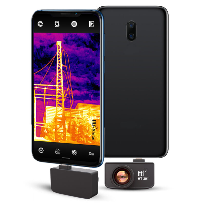 HT-301 Thermal Imager Multifunction Detection Mobile Phone for Android(384*288)
