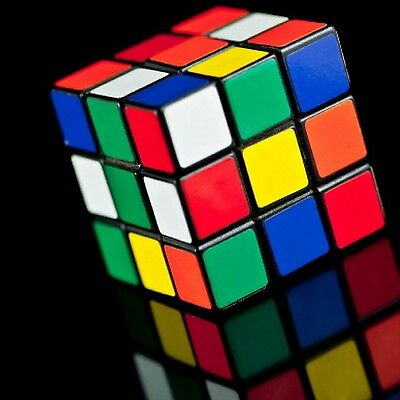 Rubiks Cube Original Official 3x3 Fast Speed Smooth Puzzle Toy Kid Mind Game NEW
