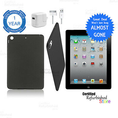 Apple iPad 4th Generation 64GB | Wi-Fi Only | 9.7 in | Black | FREE Warranty