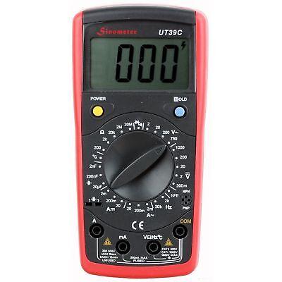Sinometer Ut39c Volt Resistance Capacitance Temp Multimeter