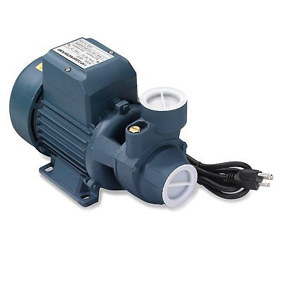 Clear Water Pump 1hp Electric 1-12 Inch Inlet Pipe For Pool Pond Cleaning