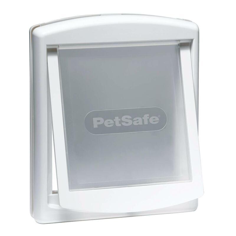 PetSafe Staywell Original 2 Way Pet Door Cat or Dog Flap, Small - 715EF - White