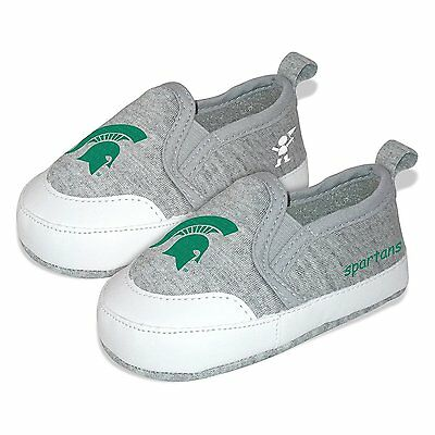 Michigan State Univ   Spartans  Unisex Pre Walkers  Baby Shoes Size 4  Brand New