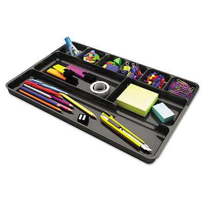 Universal Recycled Drawer Organizer Nine Compartments Plastic 14 X 9 X 1 18