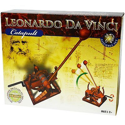Elenco Edu 61009 Leonardo Da Vinci   Catapult Diy Kit Ages 8