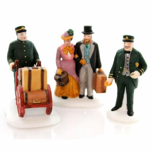Dept 56 Dickens Village ~ Holiday Travelers ~ Mint In Box 55719
