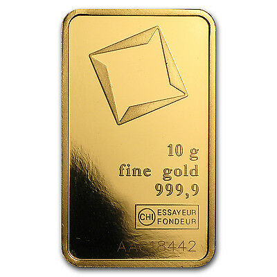 10 gram Gold Bar - Secondary Market - SKU #12478
