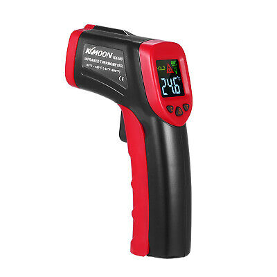 Digital Temperature Gun Non-contact LCD IR Laser Industrial Infrared Thermo P8B0
