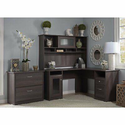 Red Barrel Studio Hillsdale 3 Piece L-Shape Desk Office - Desk L-shape Office Suites