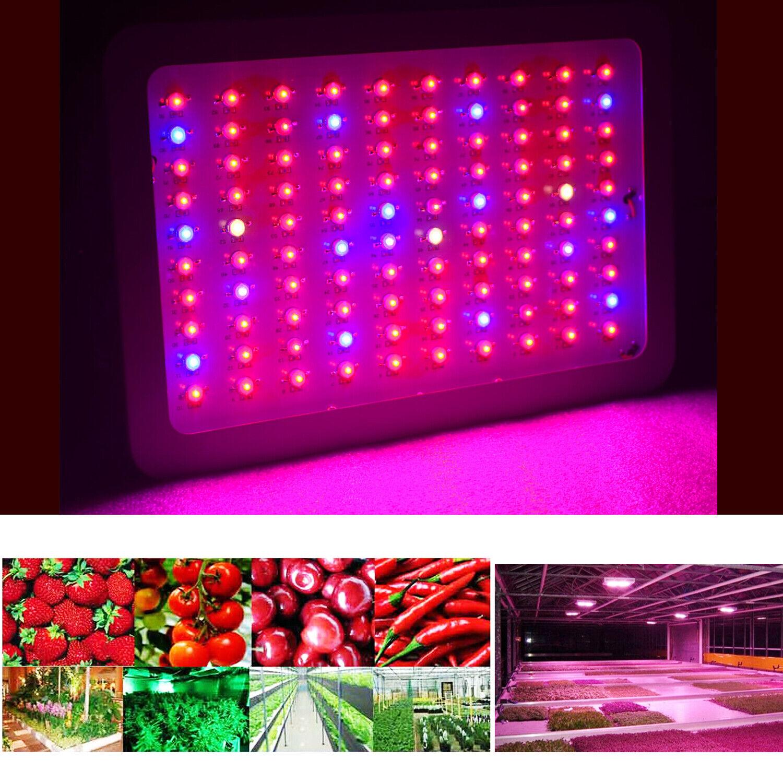 New 1000Watt LED grow light Full Spectrum for Indoor Medical Plants flower Veg Bloom WYZM 100*10W for 49.99.