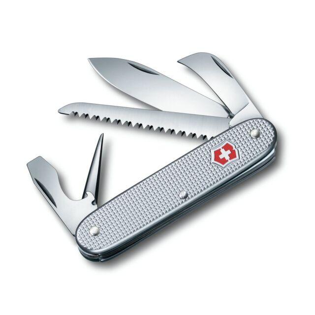 Victorinox Taschenmesser Taschenwerkzeug Pioneer Alox silber 0.8150.26 neu OVP