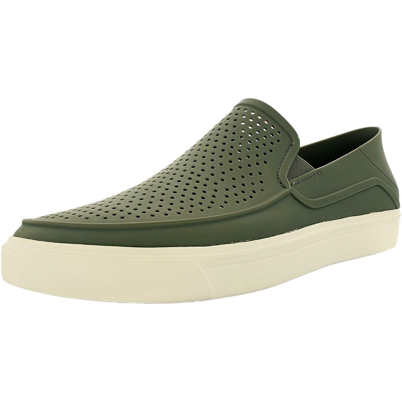 7a4429397 Crocs Men s Citilane Roka Slip On Ankle-High Flat .. in Clothing ...
