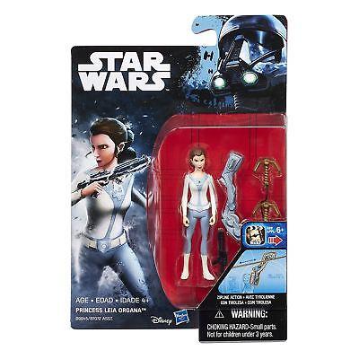 Star Wars Rebellen 9.5cm Prinzessin Leia Organa Figur ( Asst. B7072) - (Star Wars Rebellen Leia)