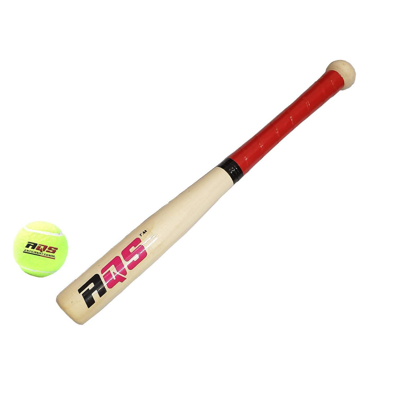 24/'/' Fun Wooden Baseball Bat Heavy Duty Outdoor Sports 62cm UK SELLER