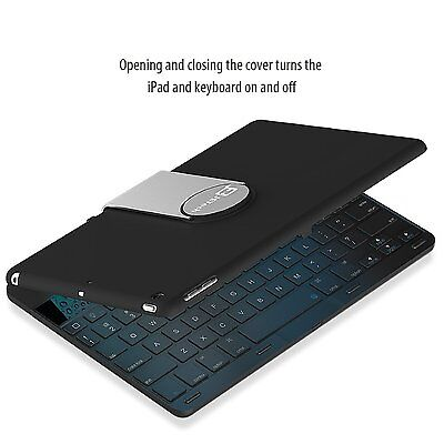 JETech® 2012 iPad Air Keyboard Wireless Bluetooth Keyboard Case for iPad Air 1st