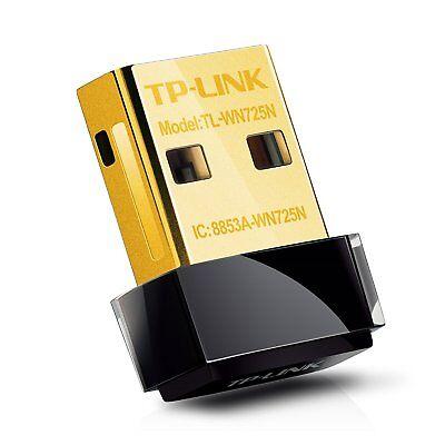 TP-LINK TL-WN725N Wireless N Nano USB Adapter 150Mbps N150