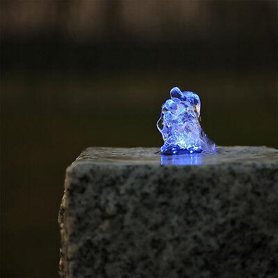 LED Ring Beleuchtung blau für Springbrunnen Quellstein Set Springbrunnenpumpe