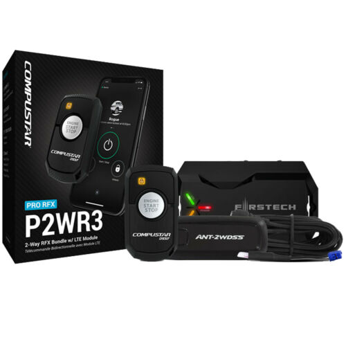 Compustar PRO RFX-P2WR3-SS 2-Way LED RF Remote with DR-X1 LTE Drone Mobile