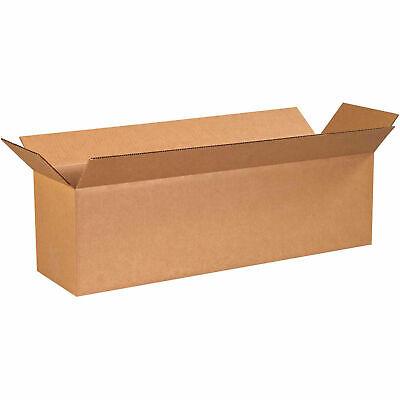 40 X 10 X 10 Long Corrugated Boxes 65 Lbs Capacity 200ect-32 Kraft Lot