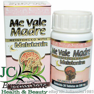 ME VALE MADRE REFORZADA CON MELATONINA REINFORCED WITH MELATONINE 30 TABLETS