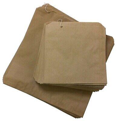PAPER BAGS STRUNG BROWN KRAFT FOOD TAKEAWAY BAG 12